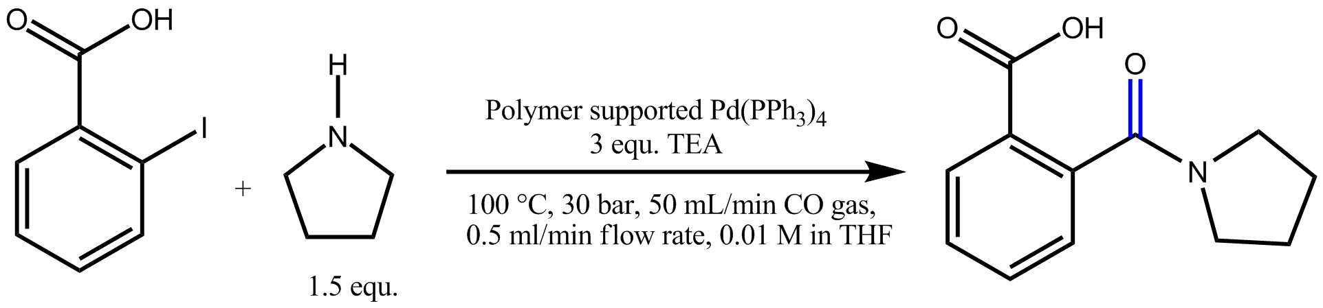 Carbonylation reaction